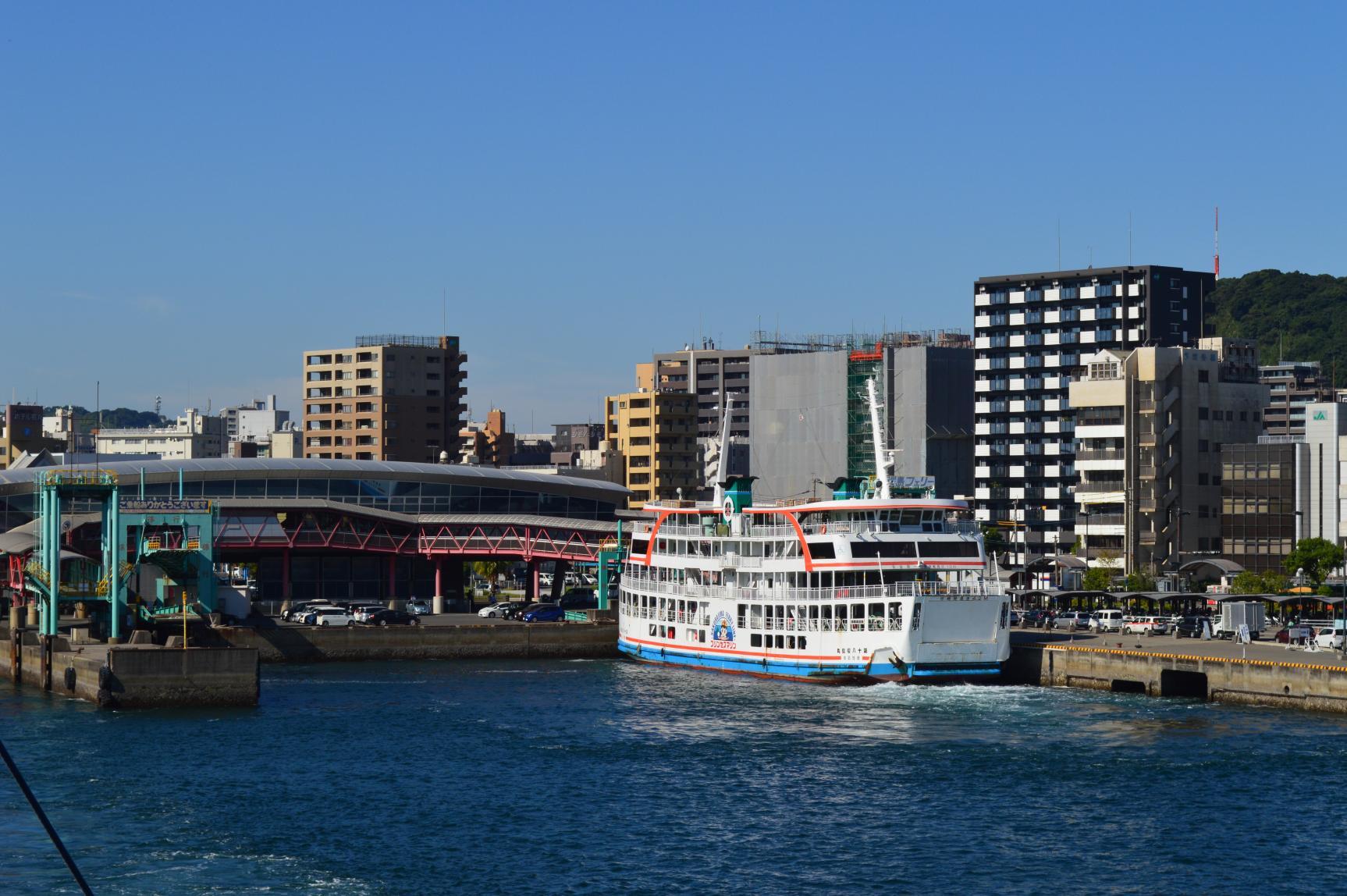 鹿児島港桜島フェリーターミナル-1