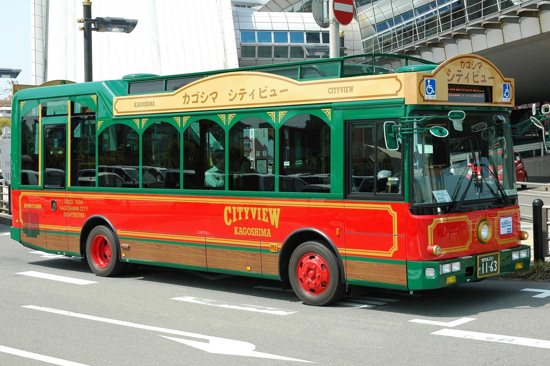 Kagoshima City View buses-1