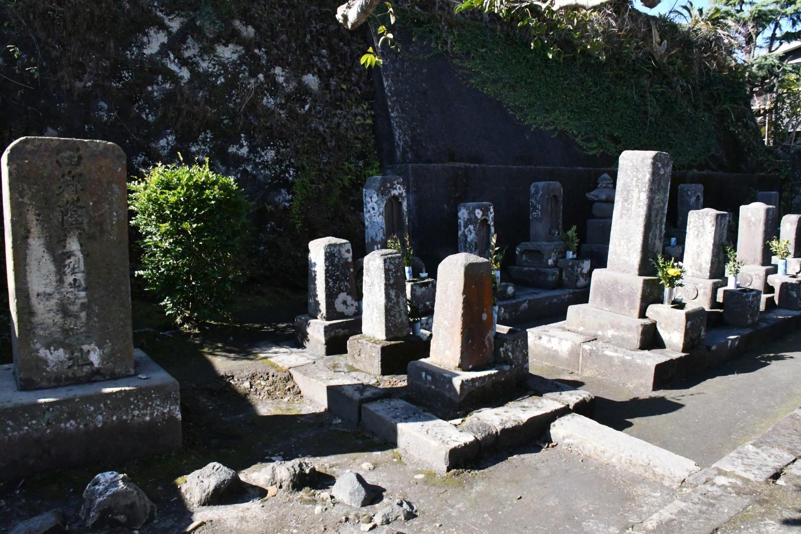 西郷家の墓-1