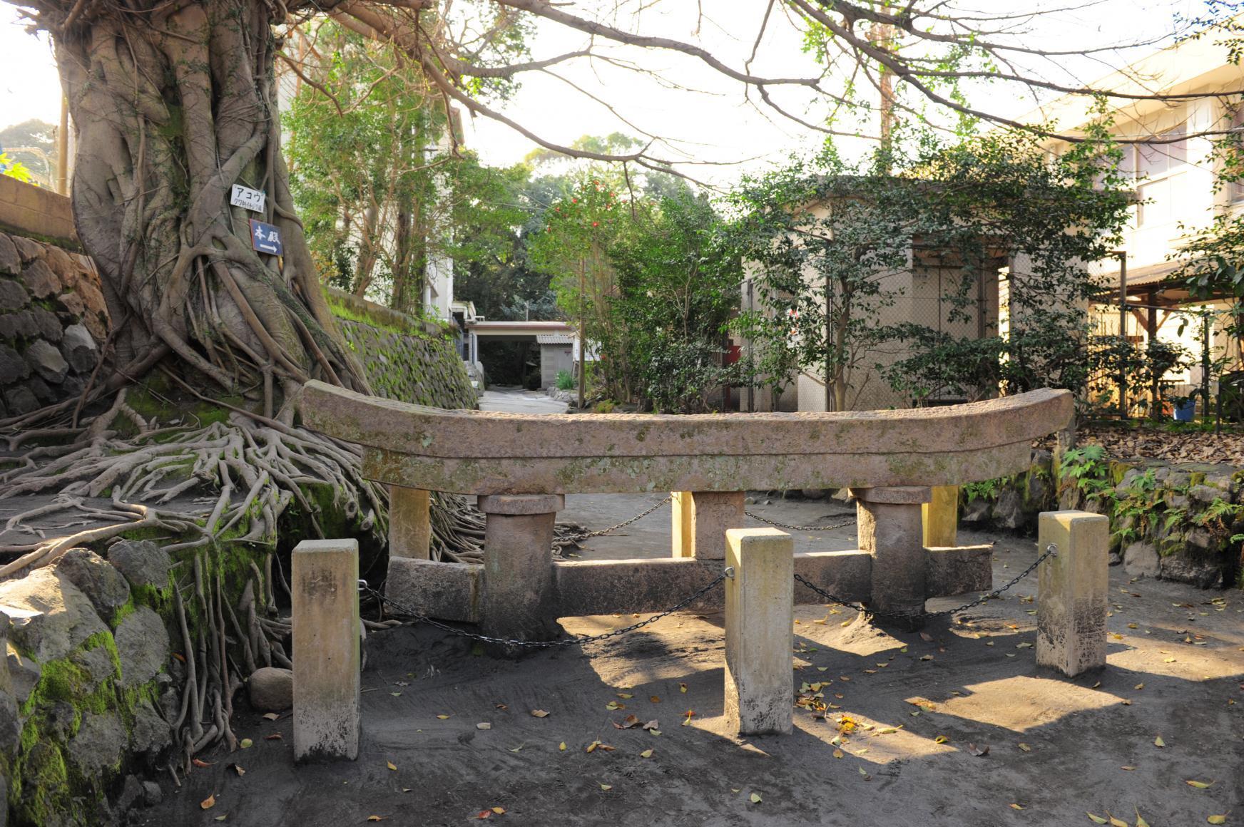 Kurokami Buried Shrine Gate-1