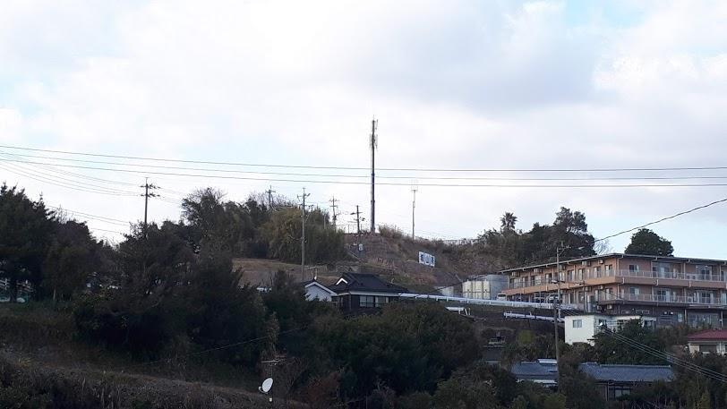 鶴丸城を守る北側の砦跡・岩崎口-1