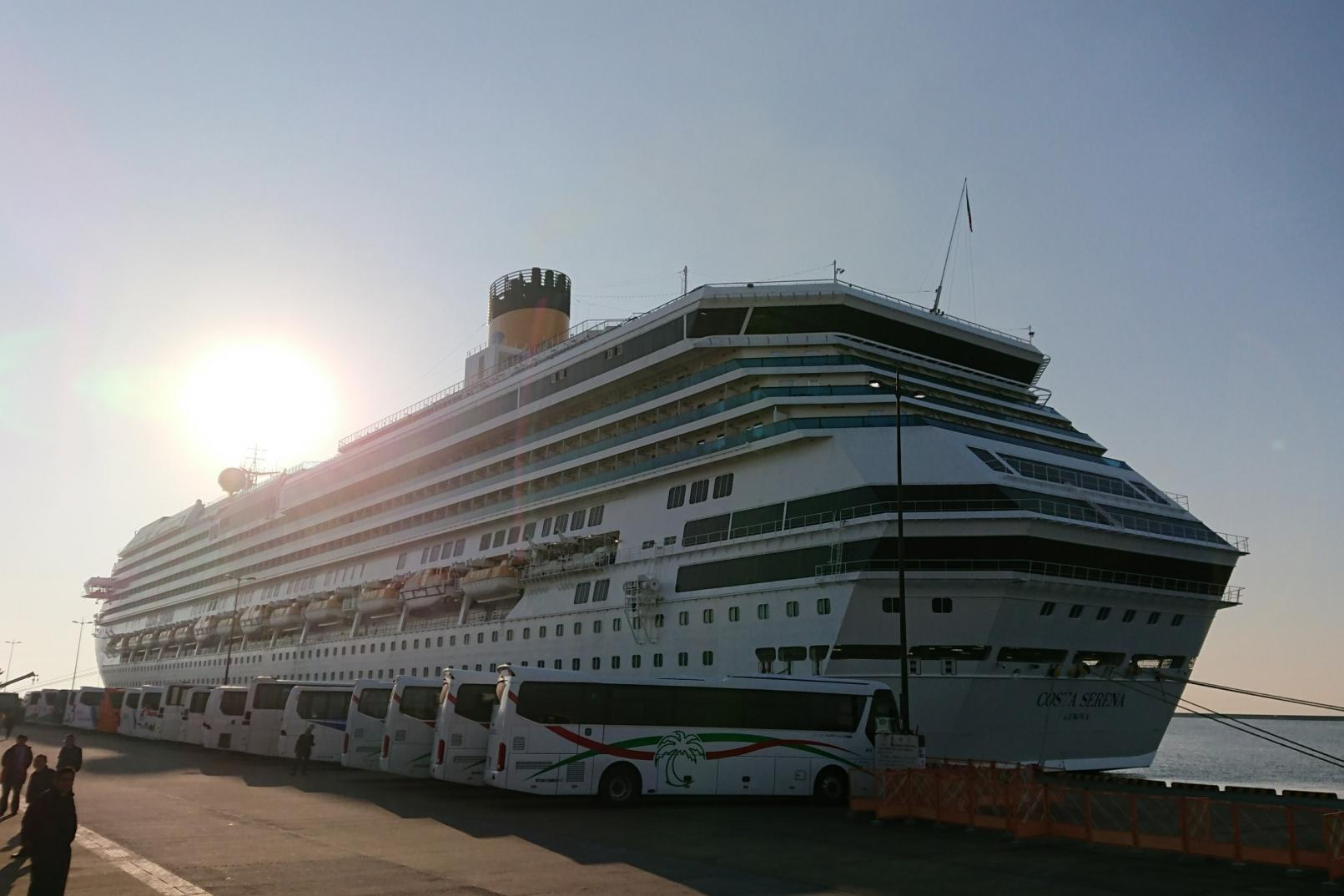 【お迎えする】観光客船の受入れ-0