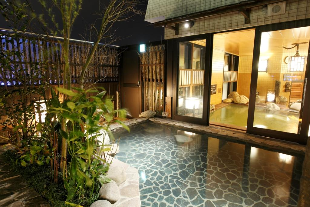 Many accommodations have hot spring facilities in Kagoshima City.-0