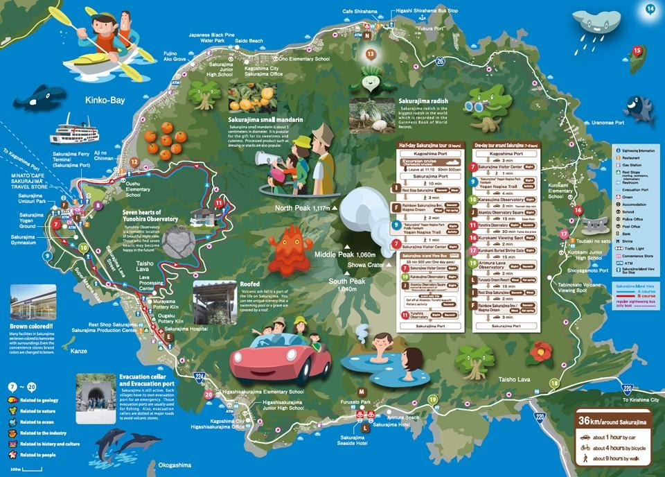 Check out the map of Sakurajima.-0