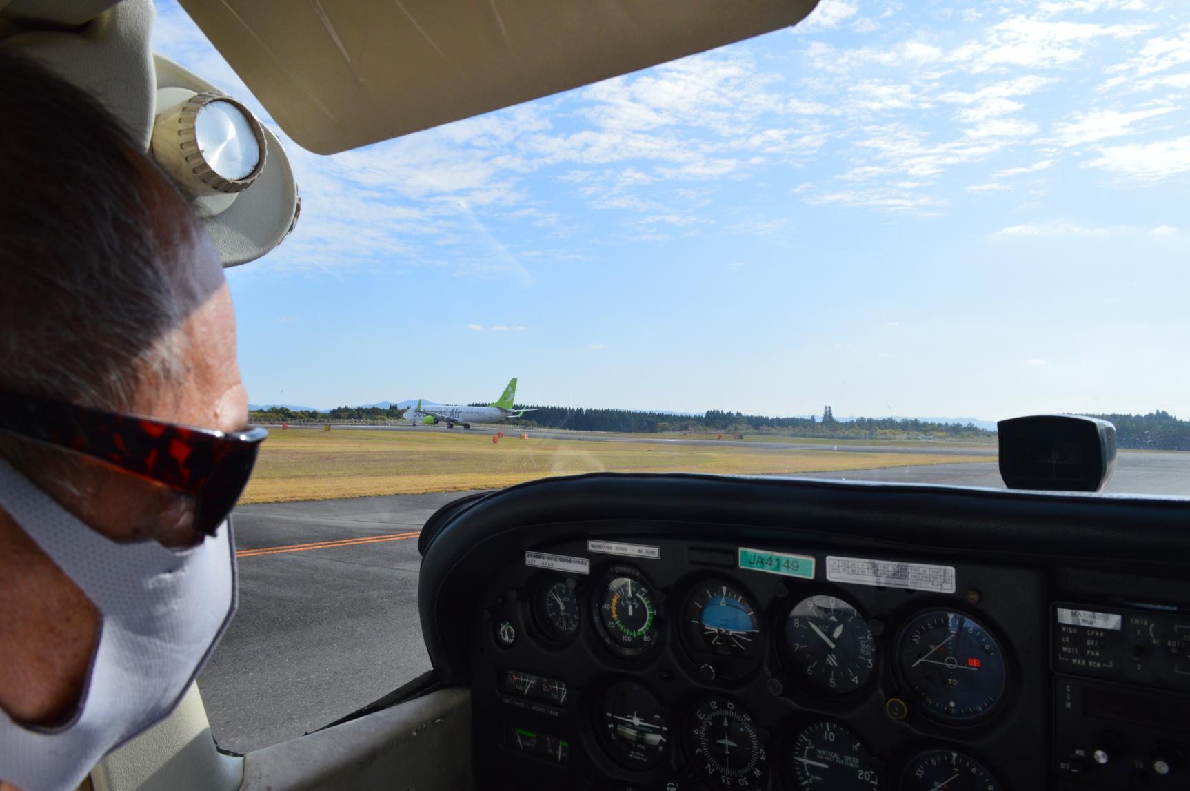 機内に乗り込んだら、いよいよ離陸の準備!-6