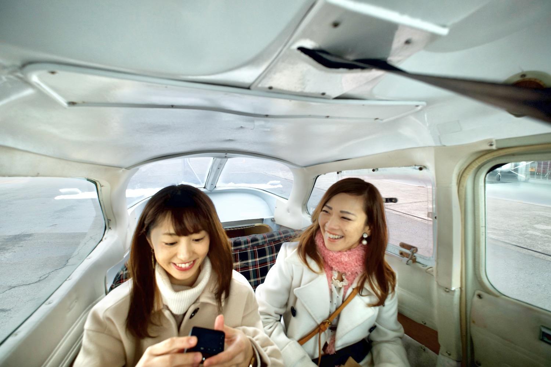機内に乗り込んだら、いよいよ離陸の準備!-1