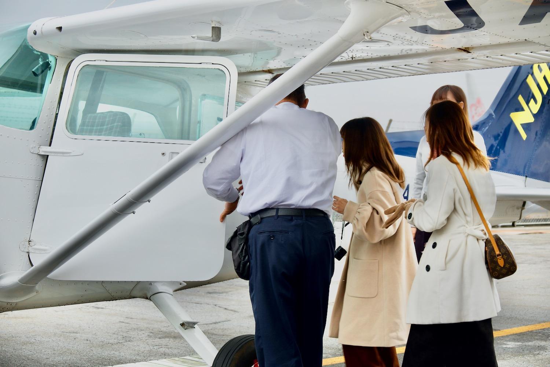 機内に乗り込んだら、いよいよ離陸の準備!-0