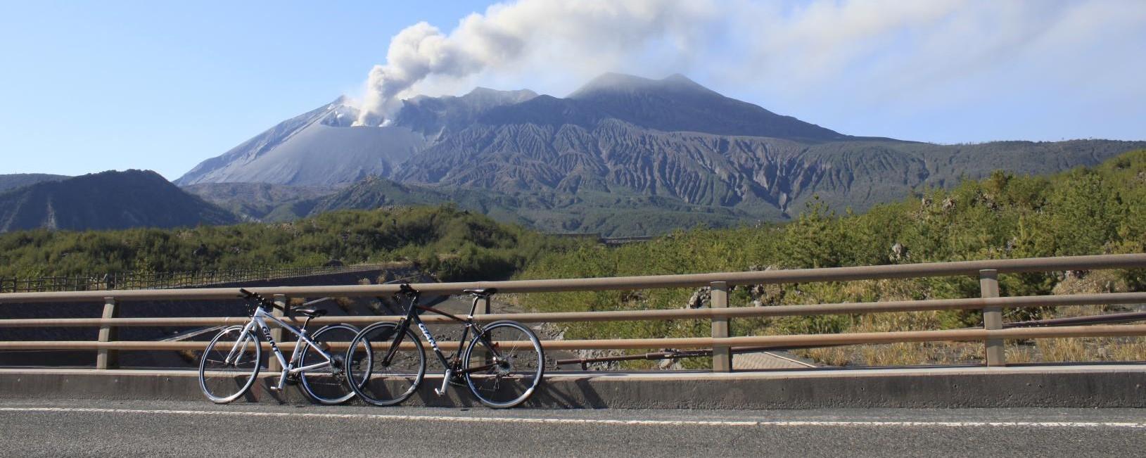 レンタルもOK!サイクリングで壮大な桜島を爽快に駆け抜けよう-1