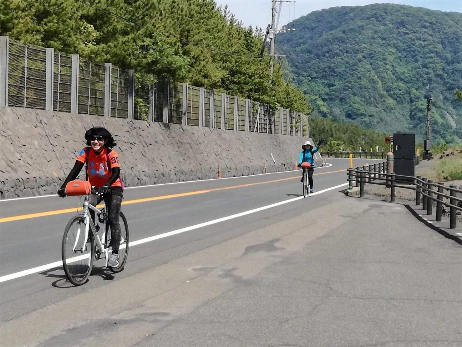 1-Day Cycling Course Around Sakurajima-1
