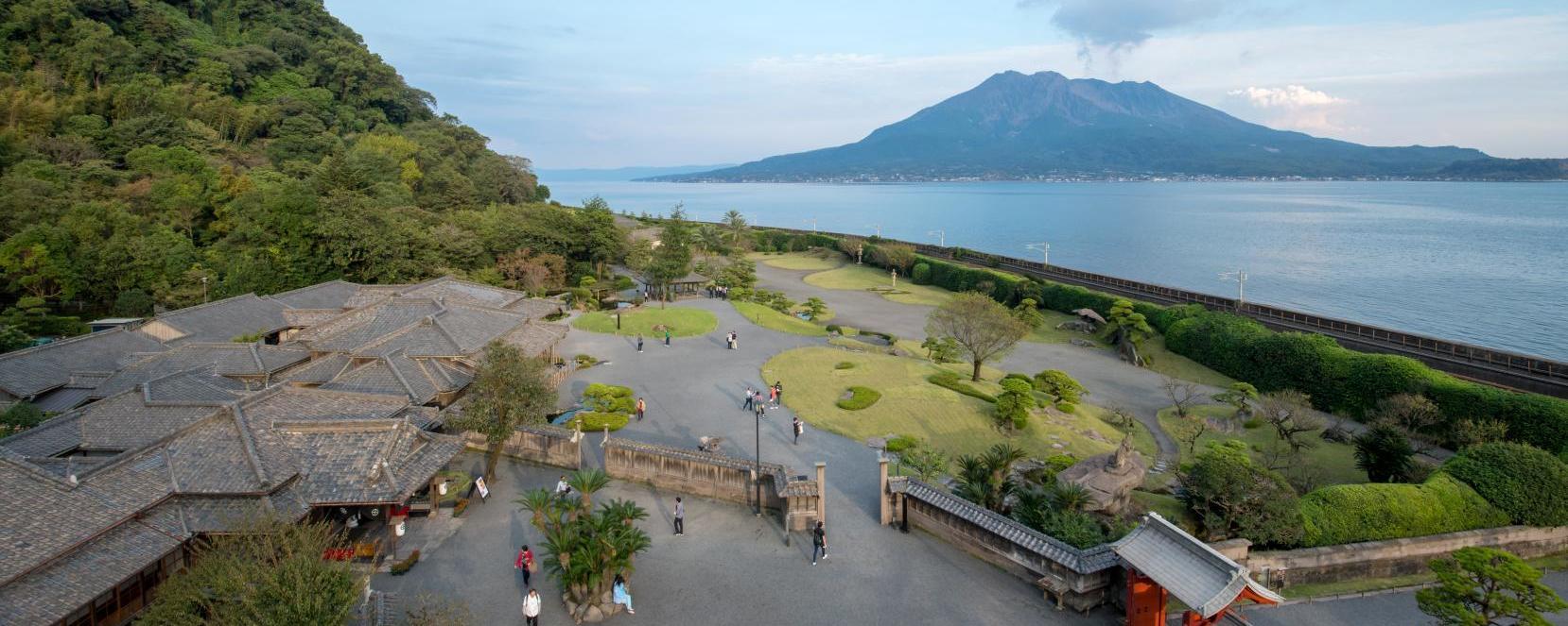 仙岩园与集成馆~可亲身感受宏伟的景色与世界遗产的感动景点~-1