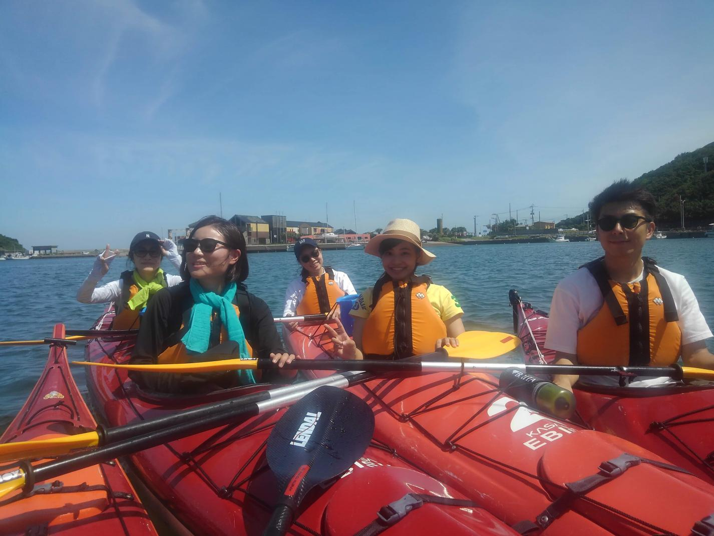 Sea kayak trip-4