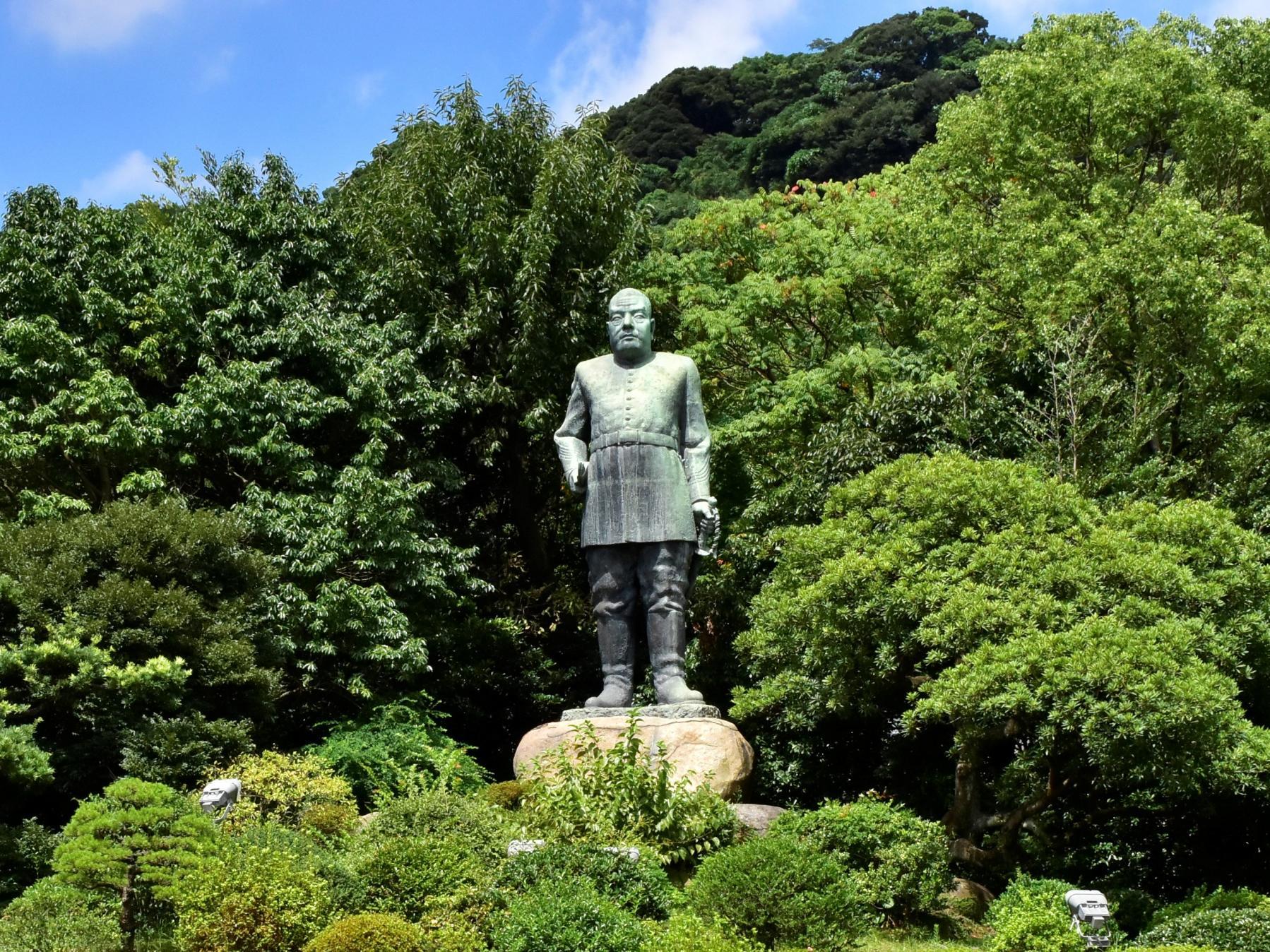 西郷隆盛銅像-0