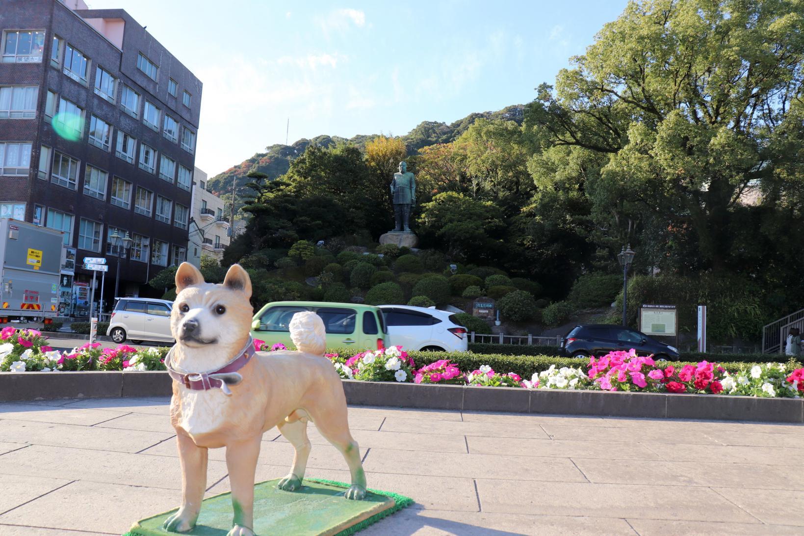 Bronze statue of Saigo Takamori-7