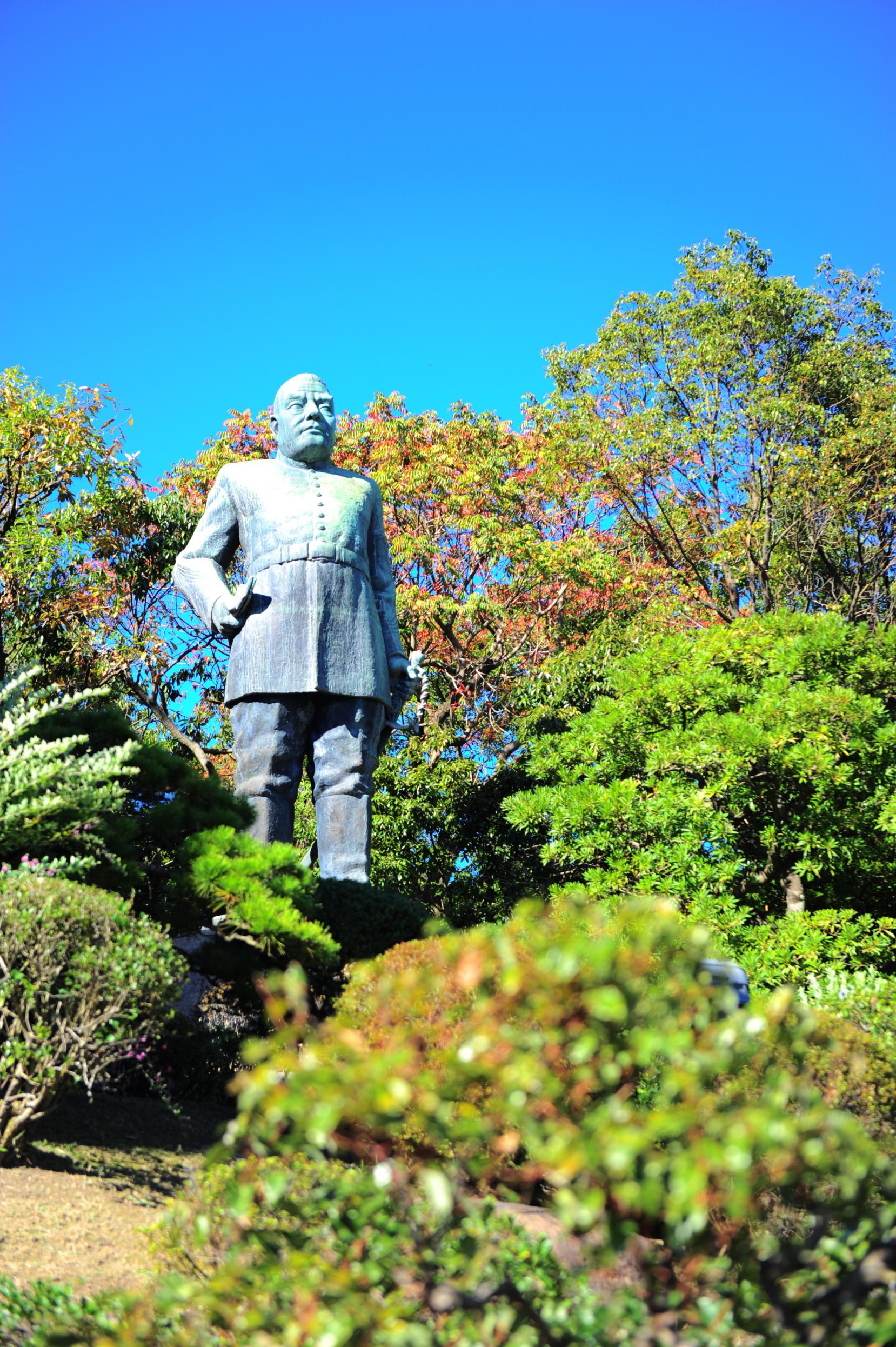 Bronze statue of Saigo Takamori-1