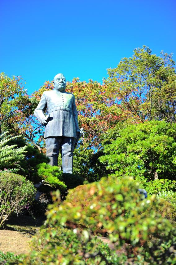 西郷隆盛銅像-1