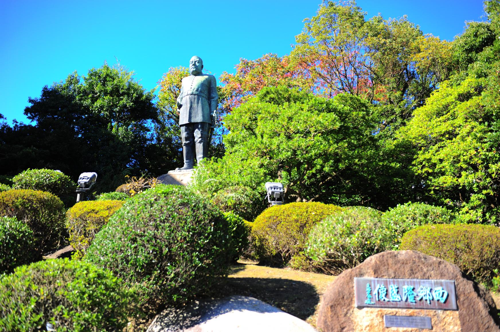 西鄉隆盛銅像-1