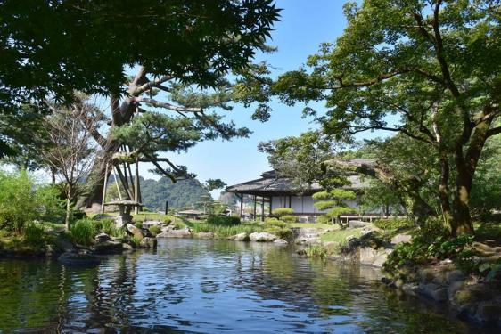 名勝 仙巌園-1