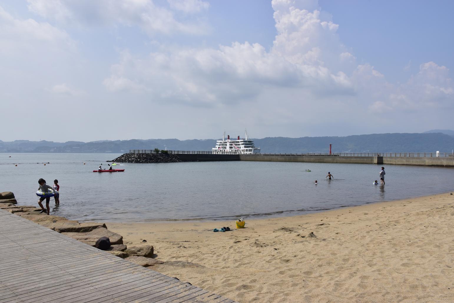 레인보우 해수욕장-2