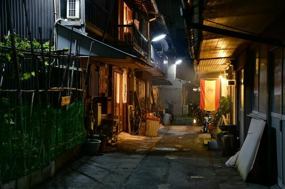 名山堀(巷弄內的餐廳)-2