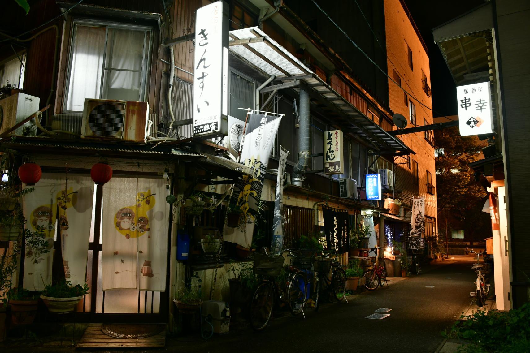 名山堀(路地裏のレストラン)-5