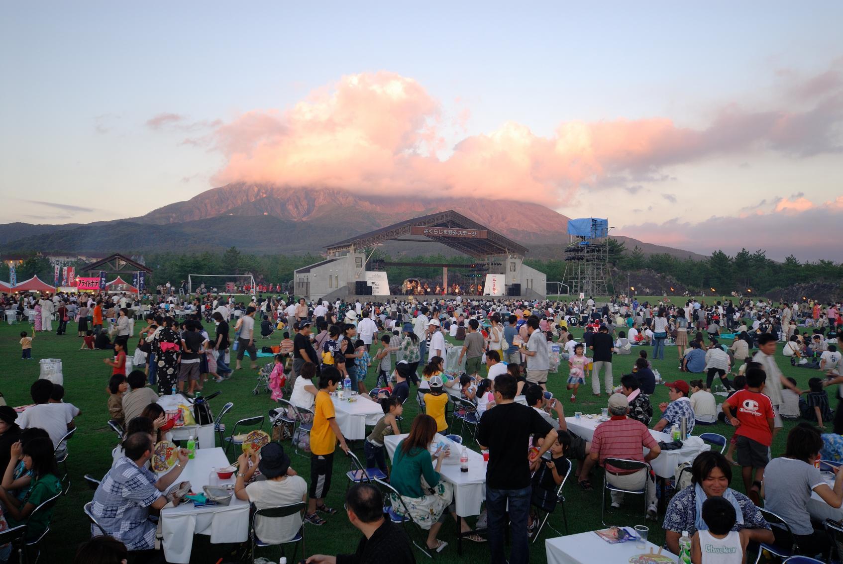 桜島火の島祭り-5