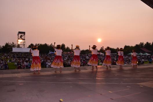 桜島火の島祭り-4