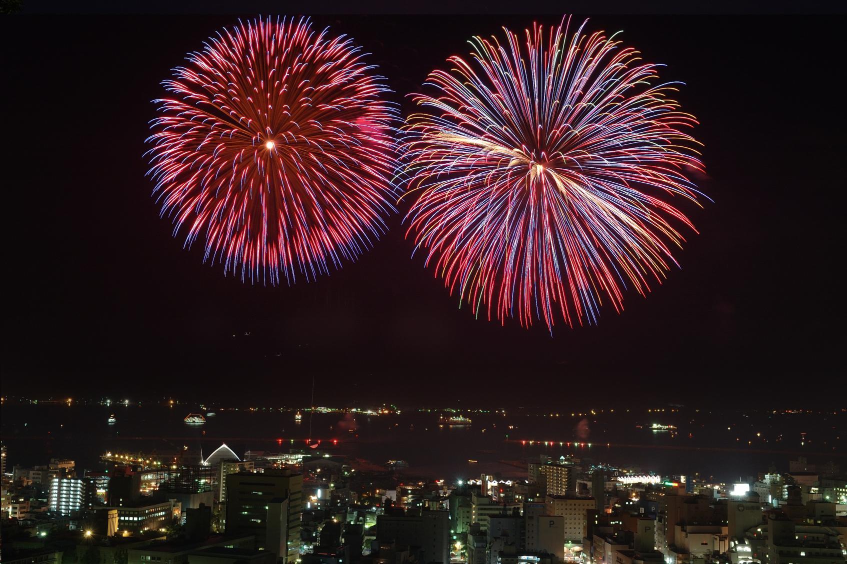 かごしま錦江湾サマーナイト大花火大会-2