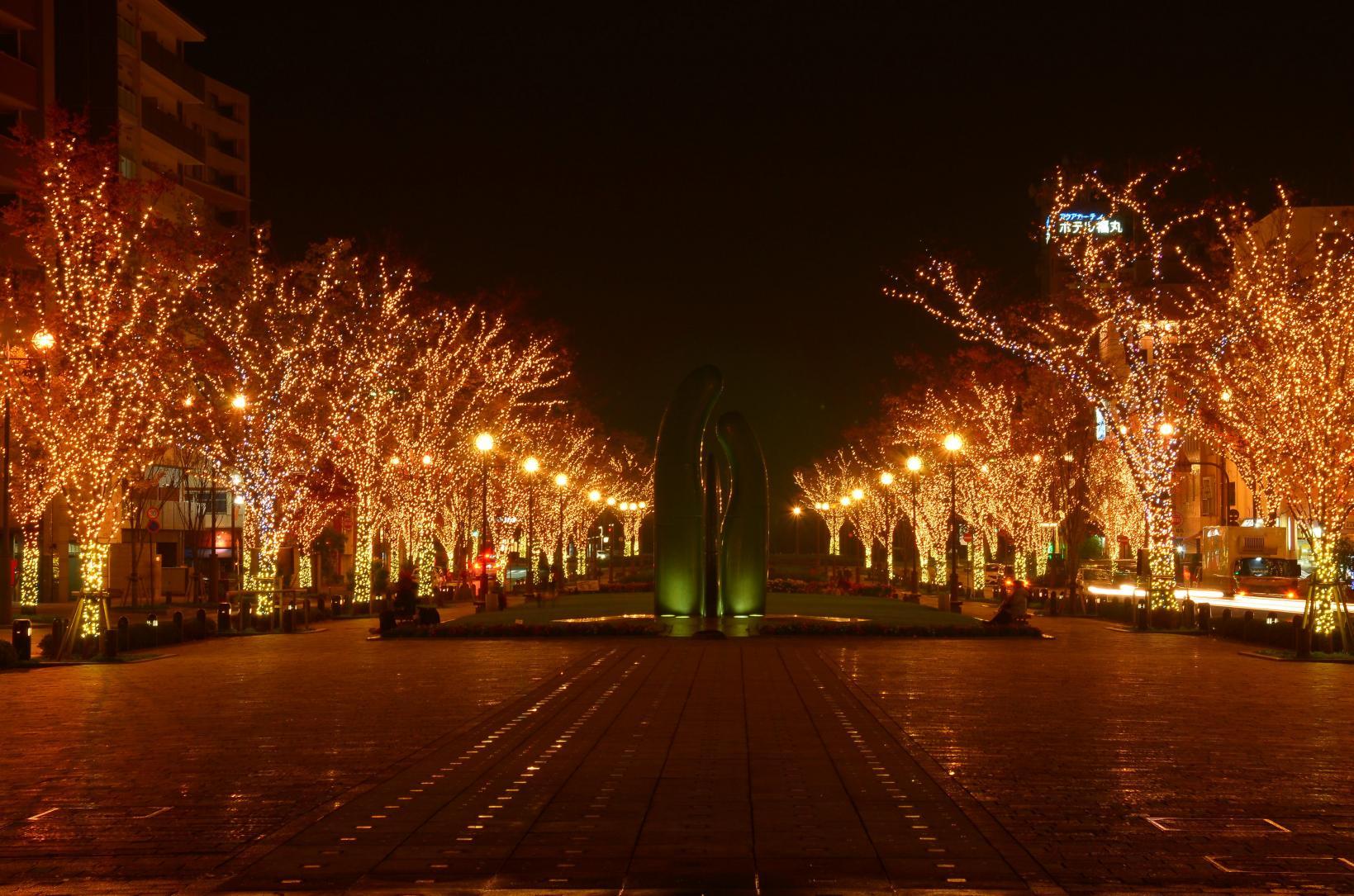 港大通公園燈飾-4