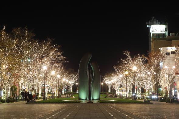 港大通公園燈飾-1