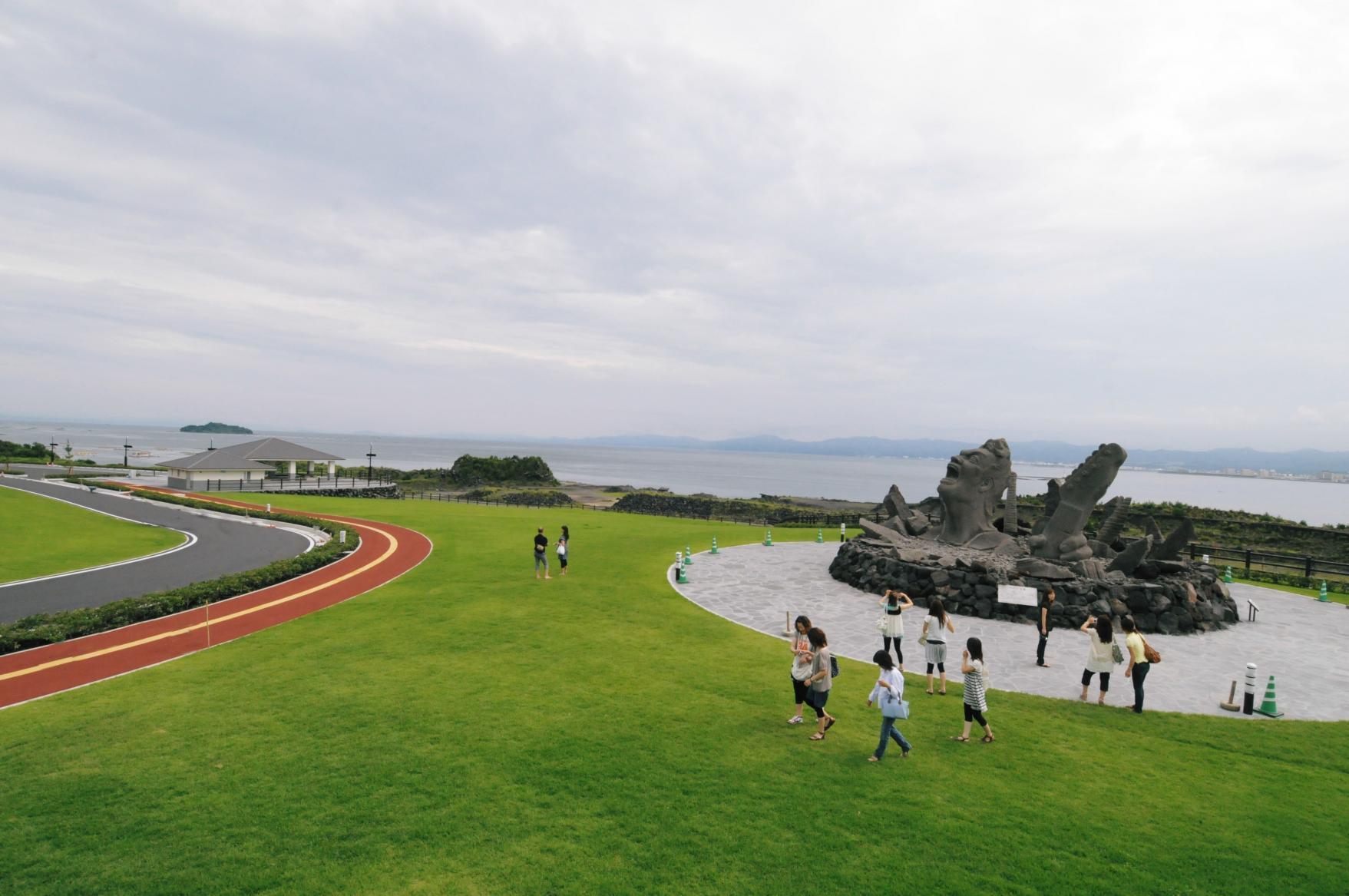 桜島イベント広場ゾーン(桜島赤水採石場跡地)-1
