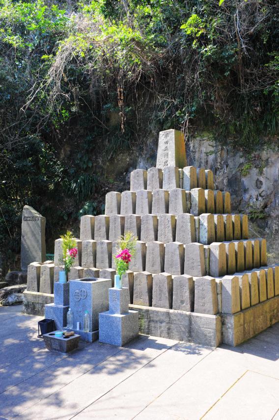 薩摩義士碑-7