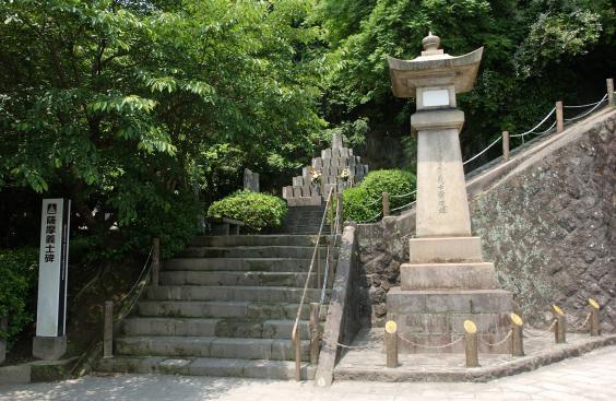 薩摩義士碑-3
