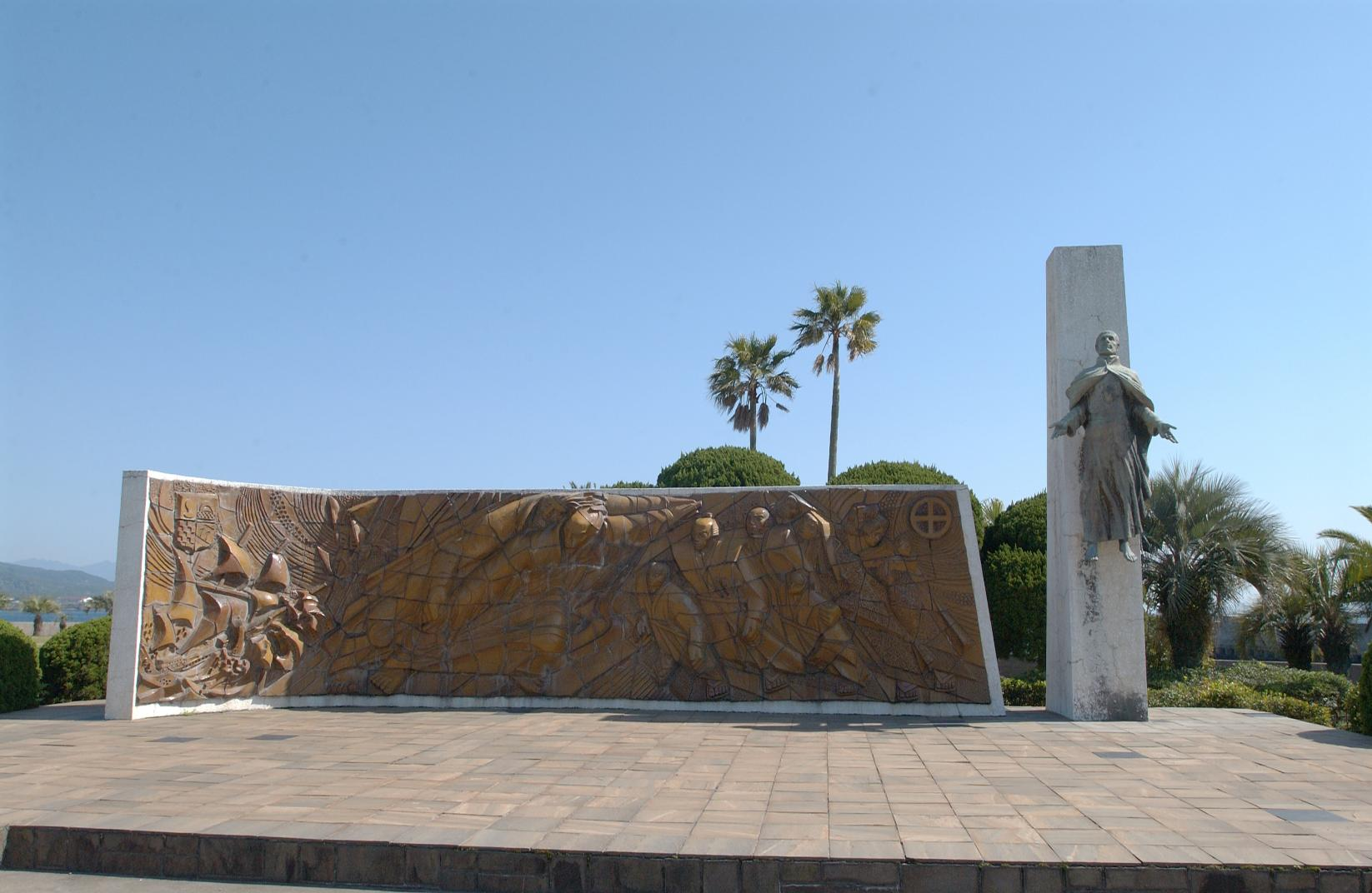 Monument of St. Xavier's Landing-1