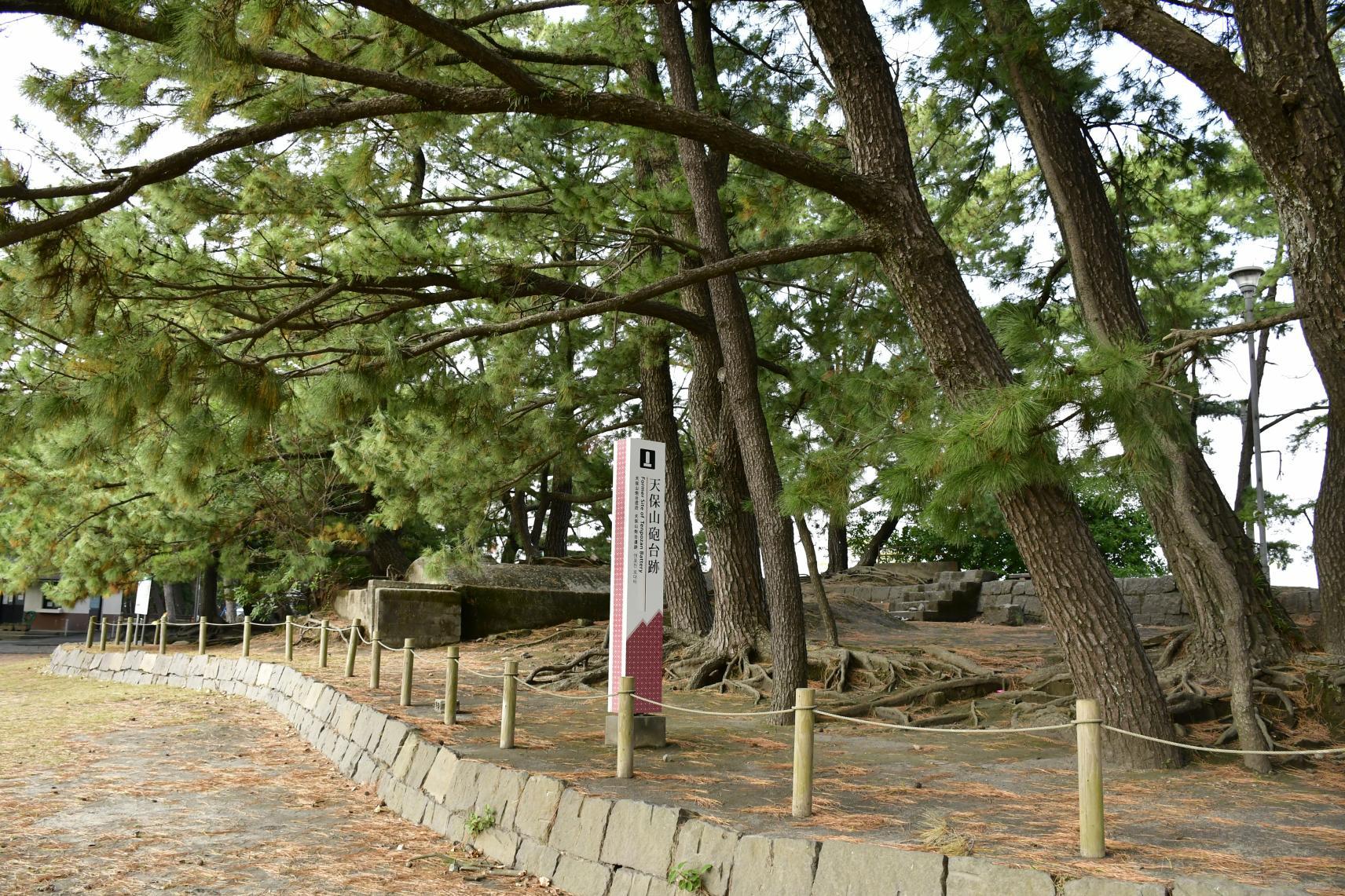 薩英戦争(天保山)砲台跡-1
