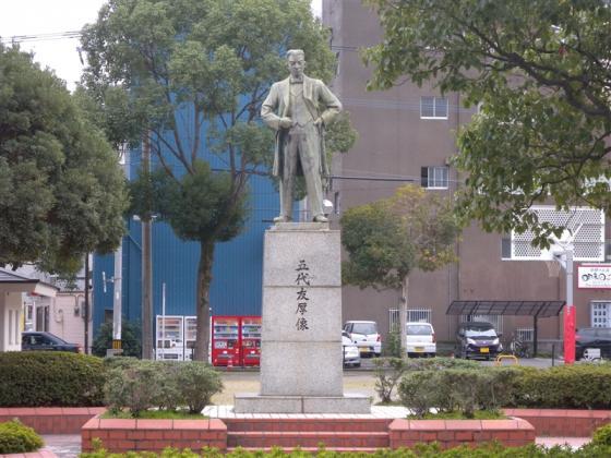 五代友厚銅像-2
