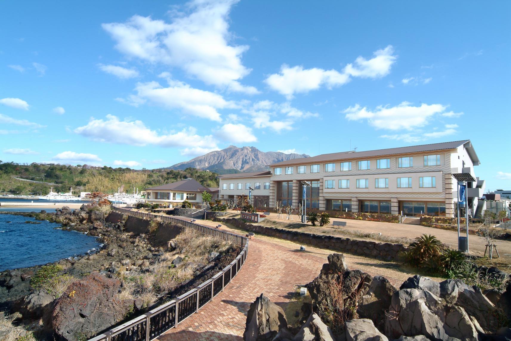 Rainbow Sakurajima Inn, Magma Onsen-1