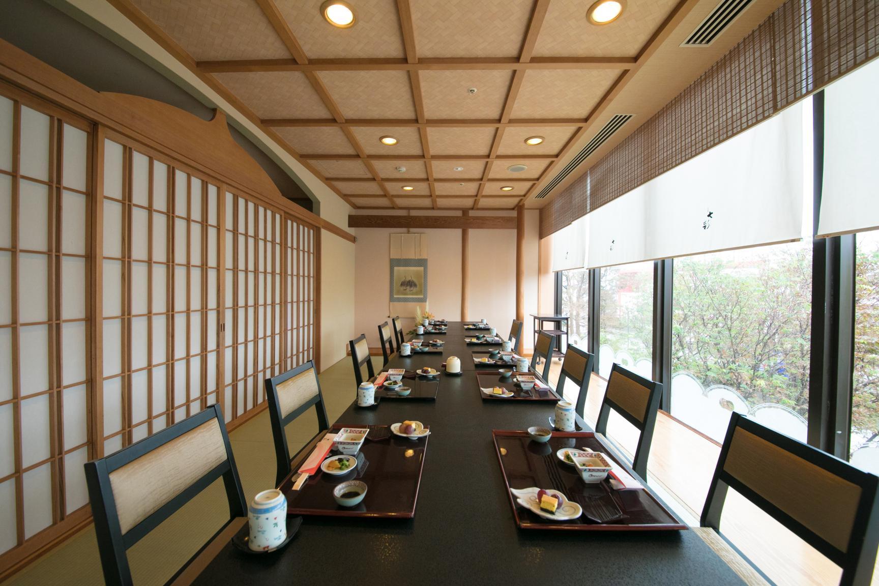 日本料理 七彩(サンロイヤルホテル)-9