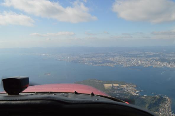 遊覧飛行 桜島コース-3