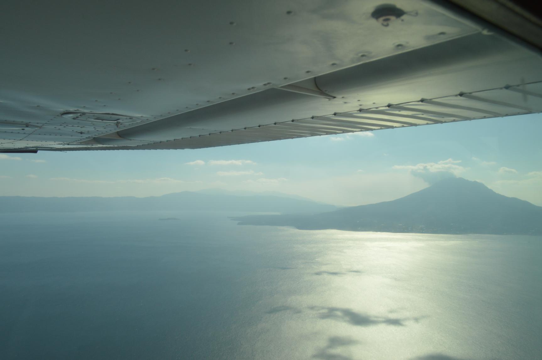 유람비행 사쿠라지마 코스-6