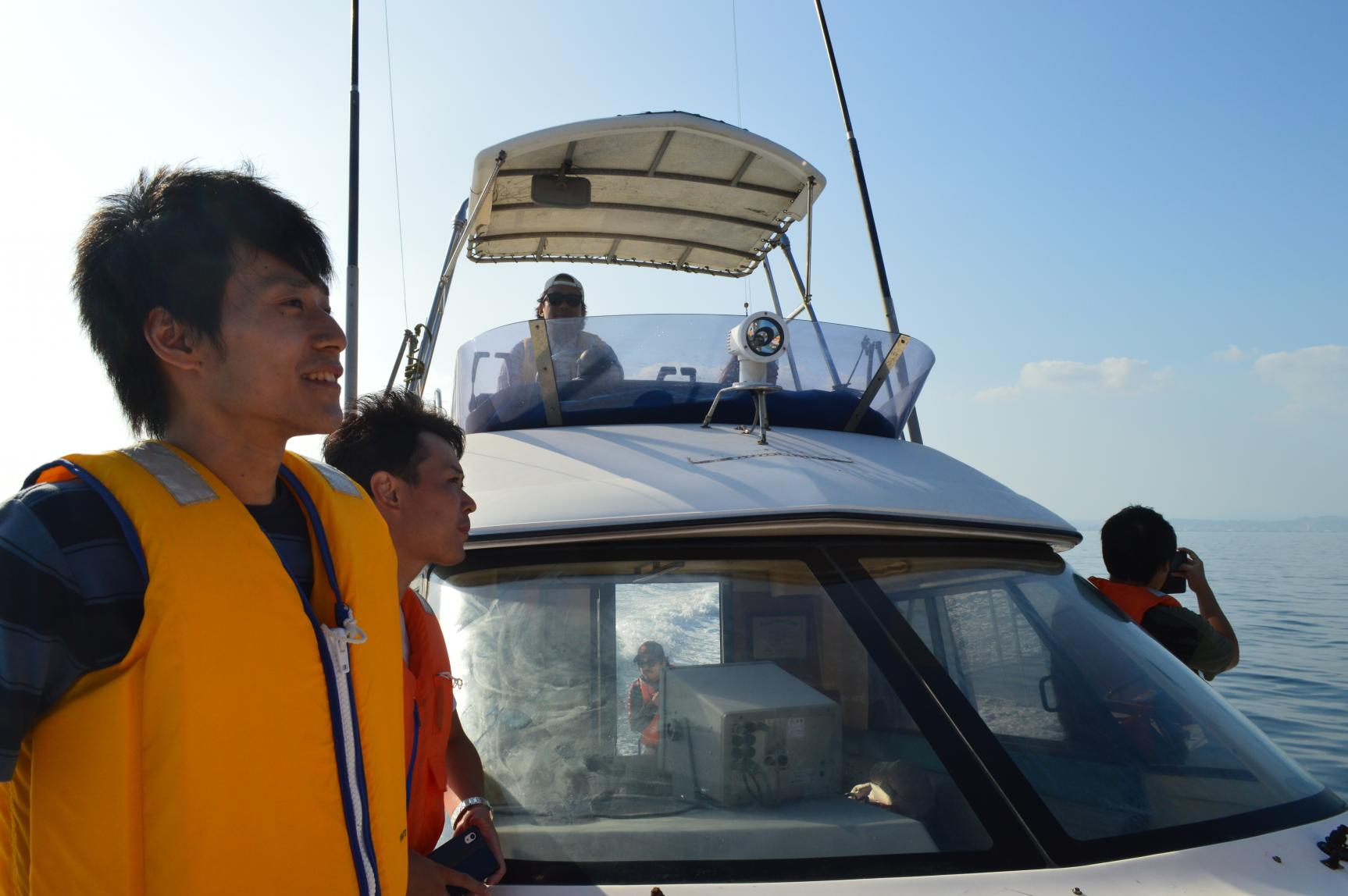Kagoshima city Blue Marine Cab Dolphin watching & Cruising-5