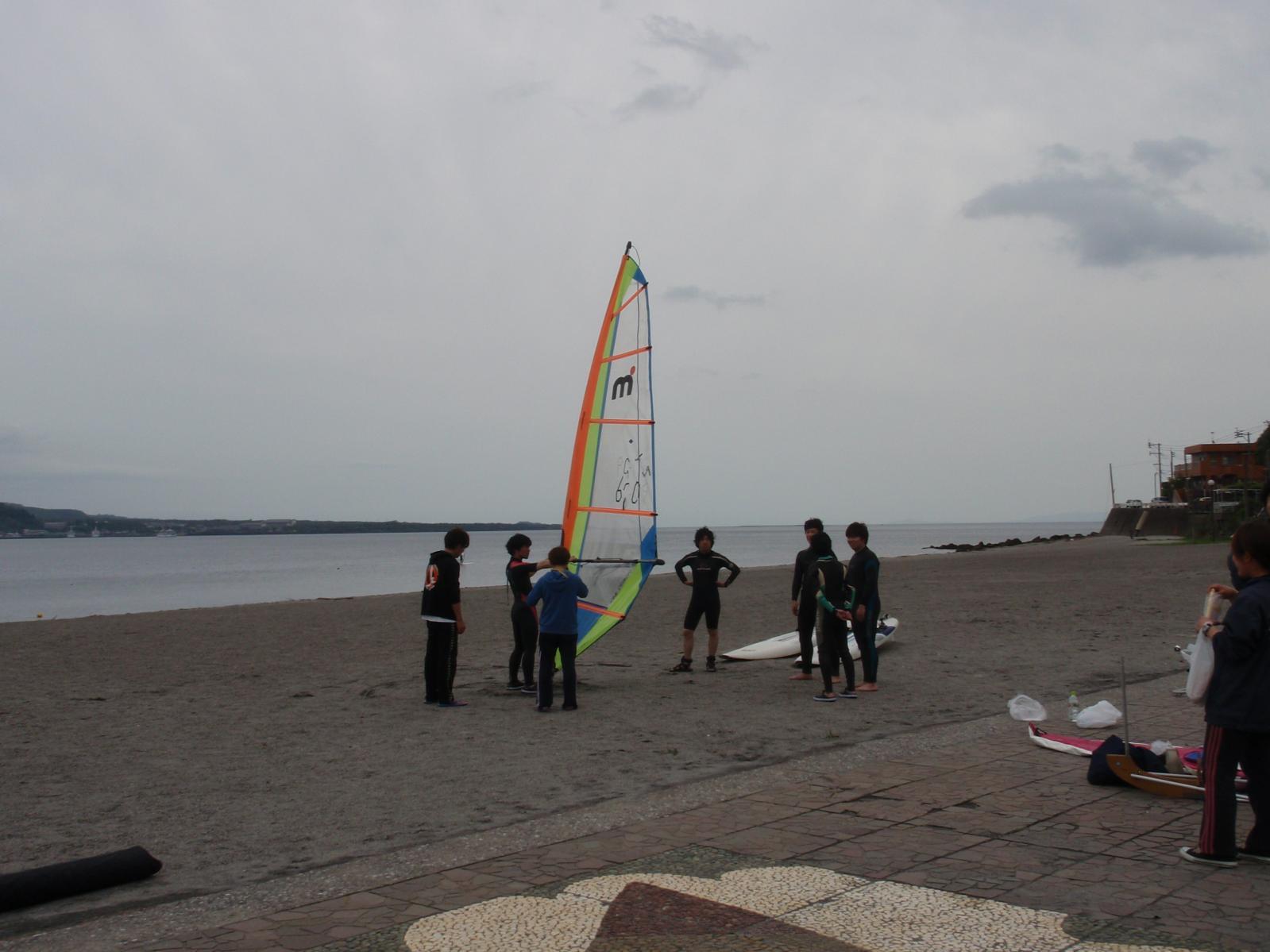 錦江湾マリン ウィンドサーフィンスクール-2