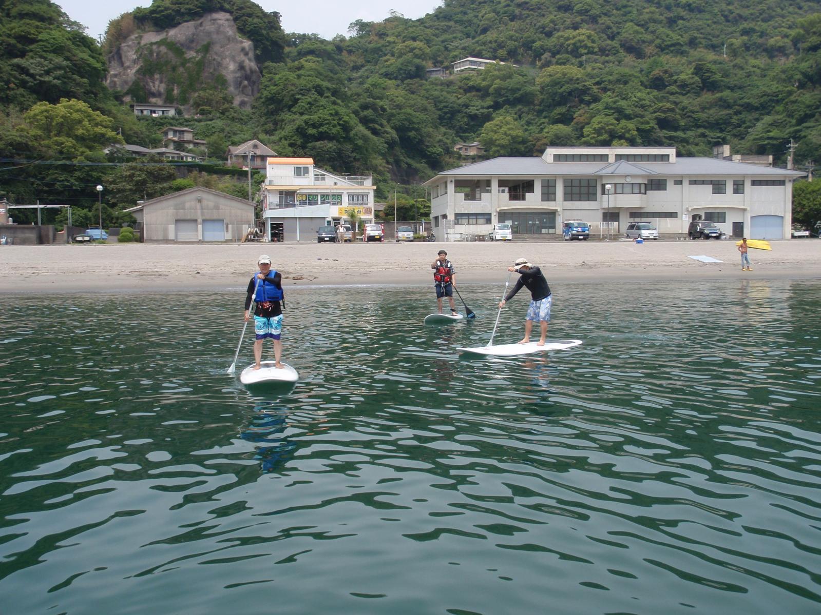 錦江湾マリン SUPスクール-1