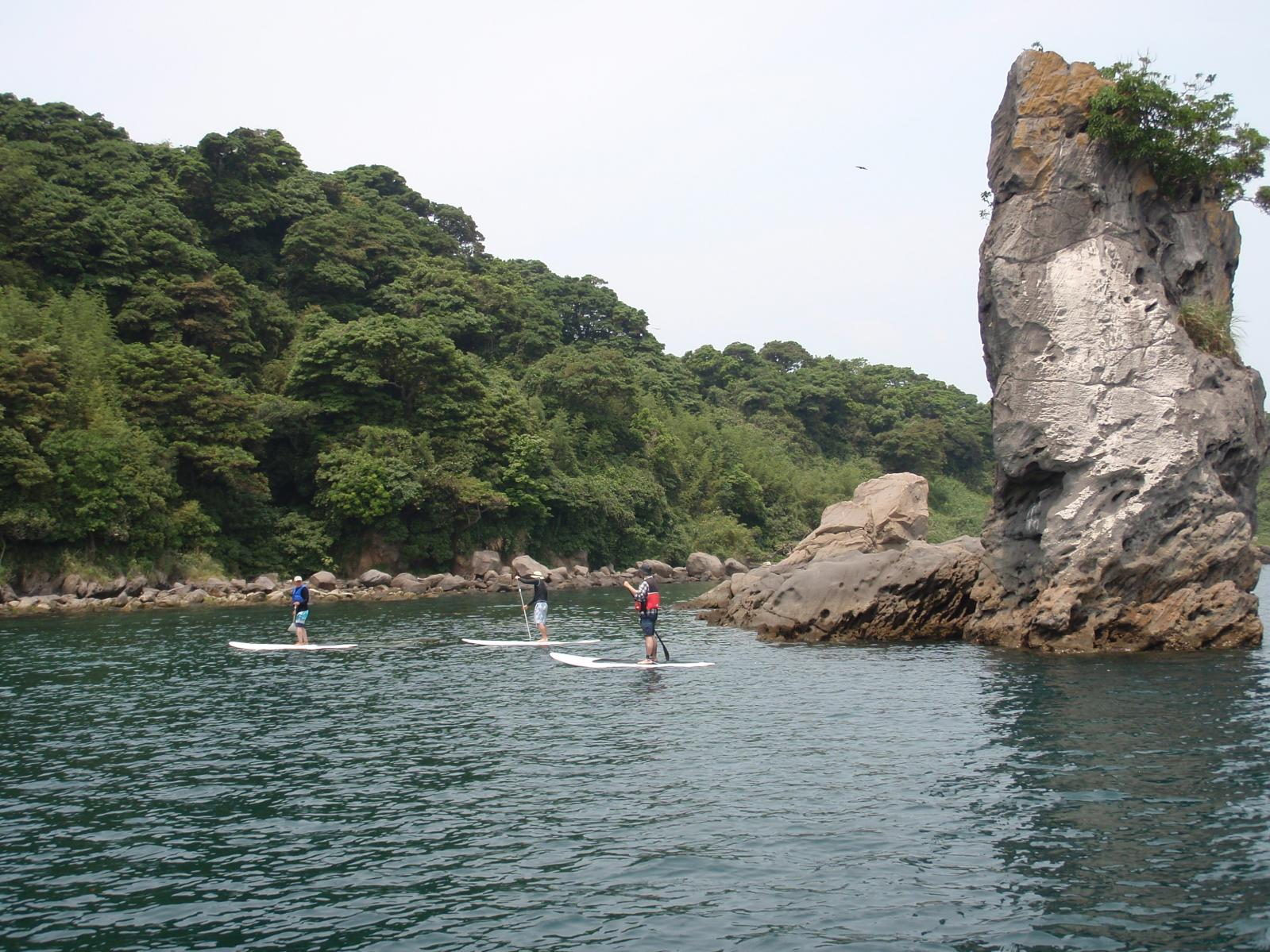 錦江湾マリン SUPスクール-2