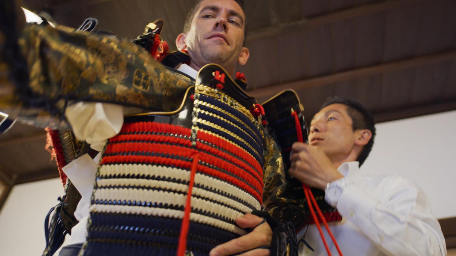 Shimadzu Samurai Armour Experience-3