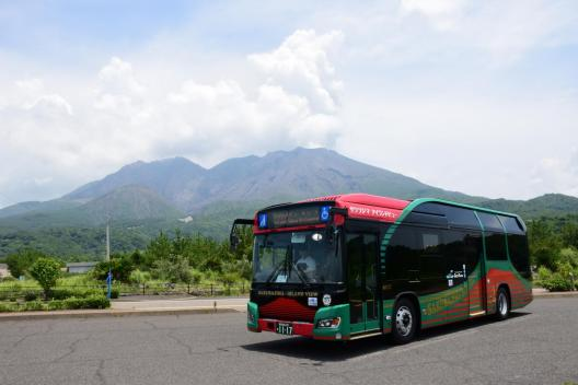 桜島周遊バス「サクラジマアイランドビュー」-1