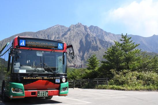 繞行櫻島的「櫻島觀光巴士」-0