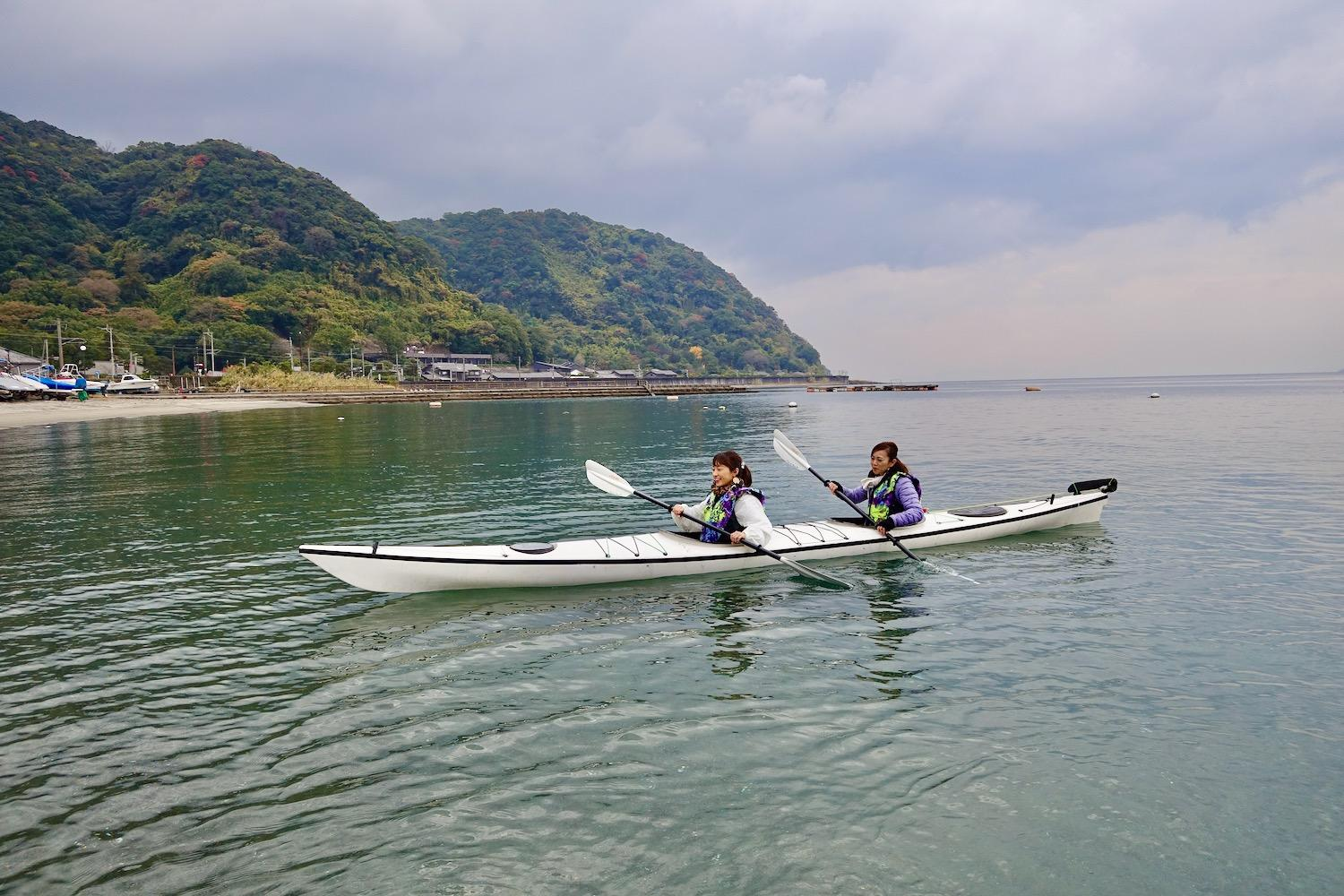 【Wind and Waves】Sea kayak trip-4