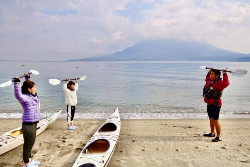 【Wind and Waves】Sea kayak trip-9