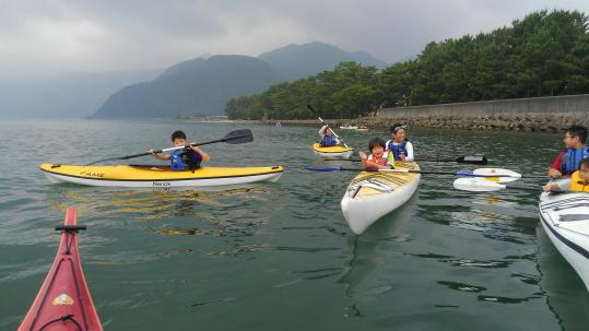 【Wind and Waves】Sea kayak trip-8
