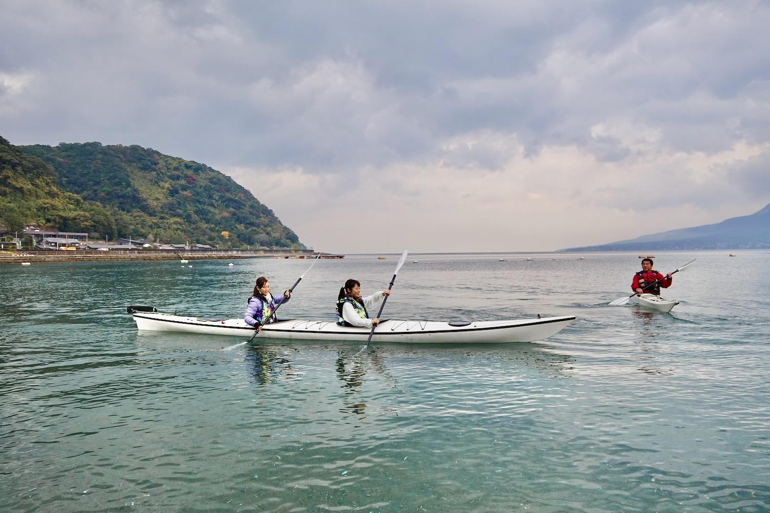 【Wind and Waves】Sea kayak trip-1